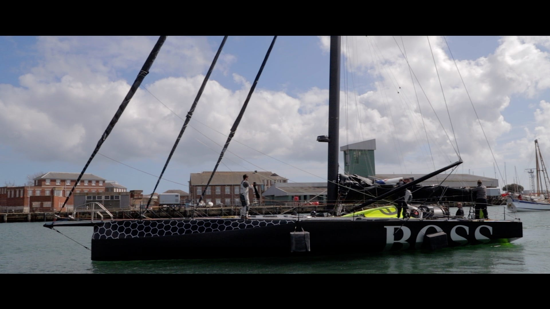 HUGO BOSS Round the world Yacht Filming