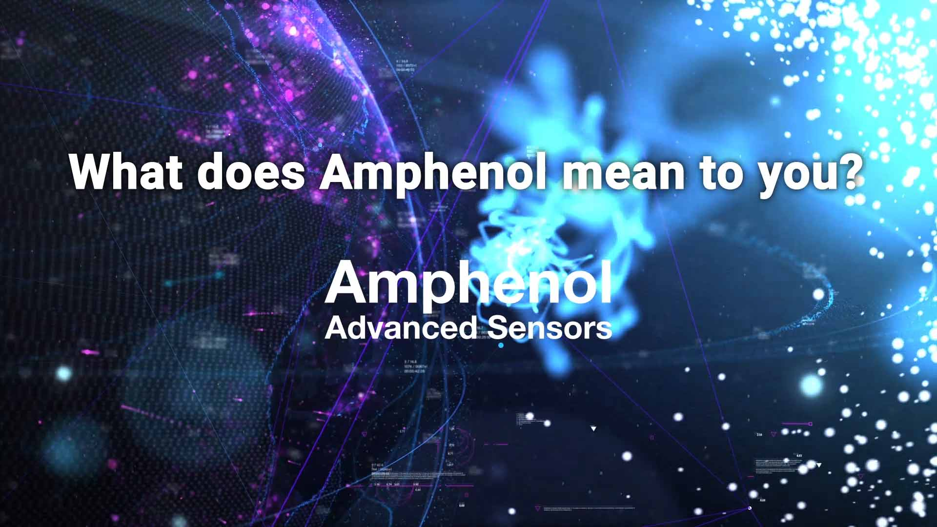 Amphenol Las Vegas Conference Video