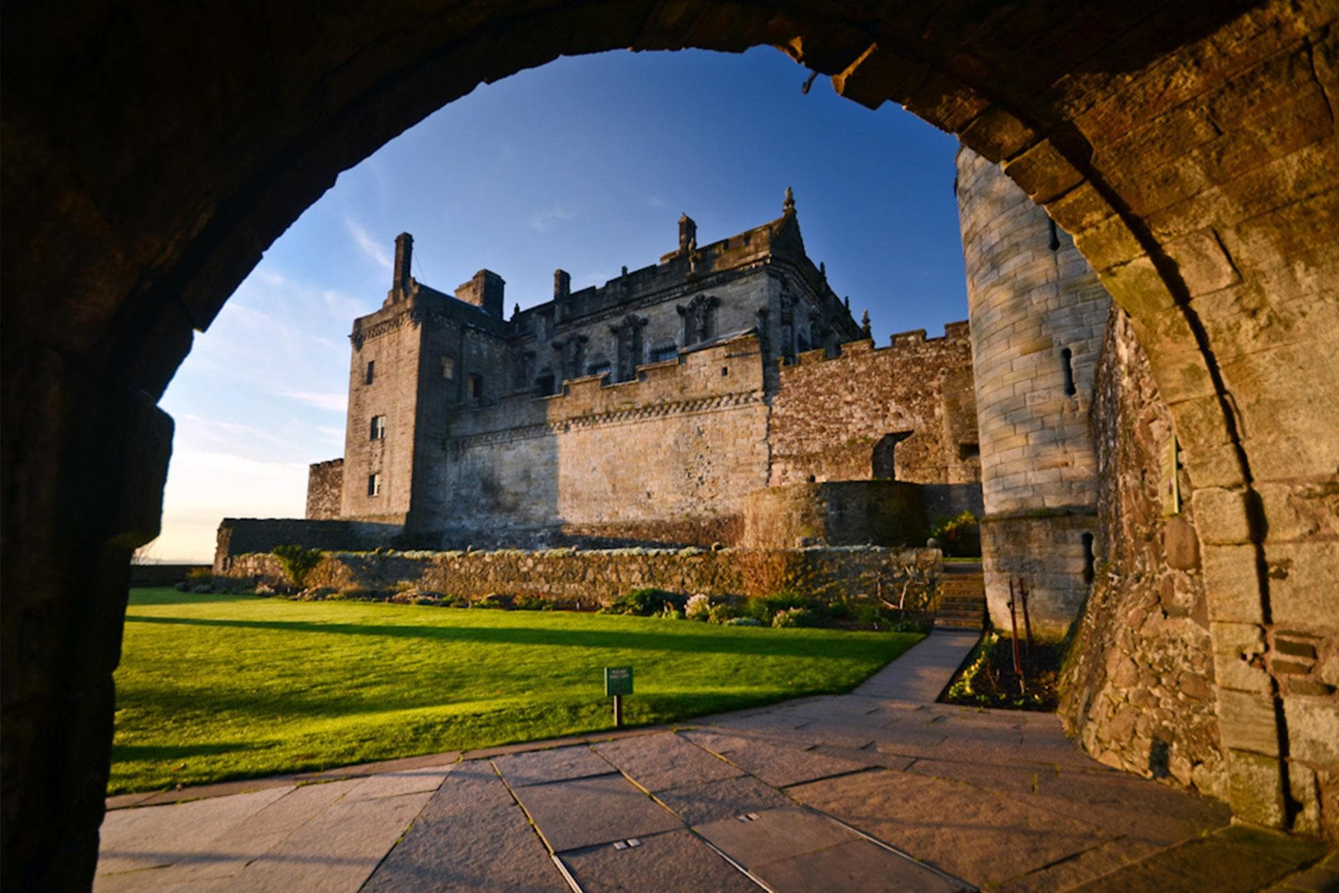 Video shoot Stirling Castle Scotland